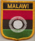Malawi 2010-2010 Embroidered Flag Patch, style 07.